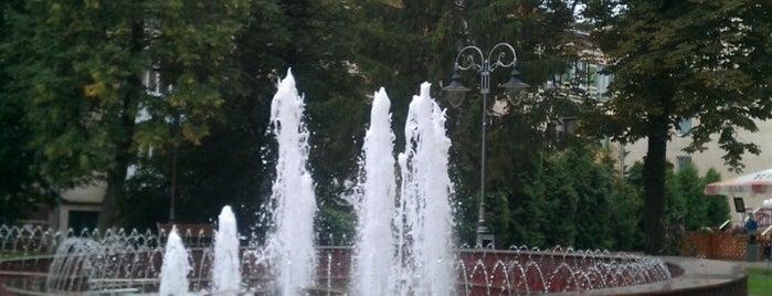 Фонтани на площі Незалежності is one of Lugares guardados de Olga.