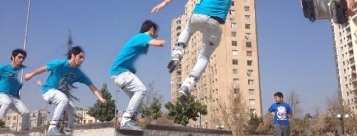 Skatepark Parque de Los Reyes is one of Santiago.
