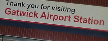 Gatwick Airport Railway Station (GTW) is one of You calling me a train spotter?.