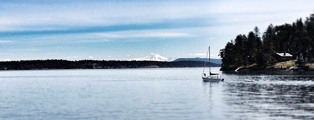 Friday Harbor is one of Seattle.