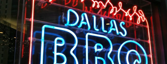Dallas BBQ is one of Places for visitors.