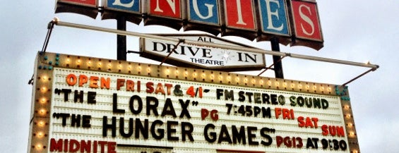 Bengies Drive-in Theatre is one of Rock Star.