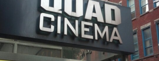 Quad Cinema is one of Deep 님이 저장한 장소.