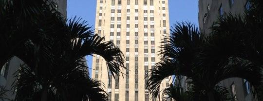 ロックフェラーセンター is one of NYC.