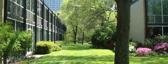 Lafayette Park is one of Detroit Favs.