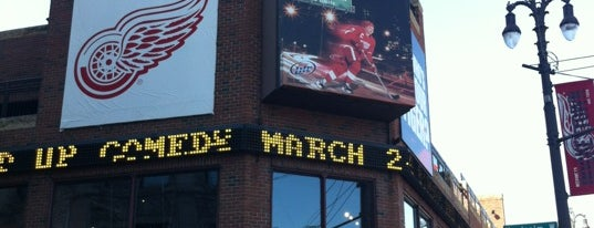 Hockeytown Cafe is one of Detroit #4sqCities.