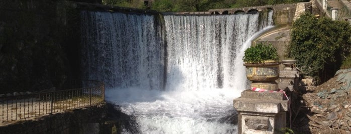 Новоафонский водопад | ჩანჩქერი is one of Gespeicherte Orte von Kate.