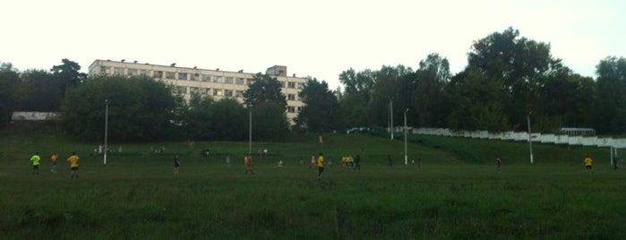 Стадион ЦСКА в Ватутинках is one of Locais curtidos por Maxim.