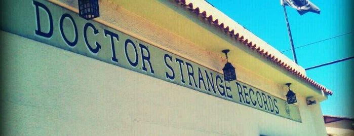 Dr. Strange Records is one of Alicia's Top 200 Places Conquered & <3.