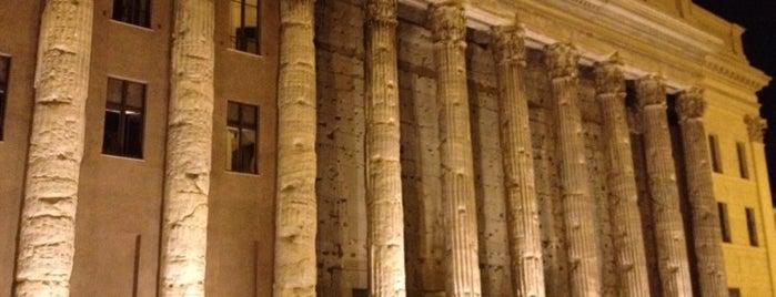 Tempio di Adriano is one of Supova in Roma.