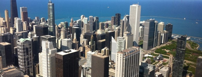 Skydeck Chicago is one of 101 places to see in Chicago before you die.