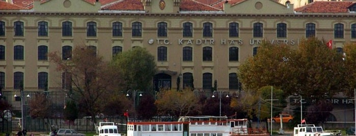 Kadir Has Üniversitesi is one of Mekanlar.