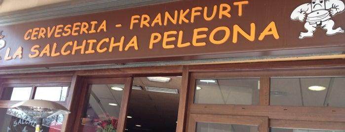 La Salchicha Peleona is one of comer.