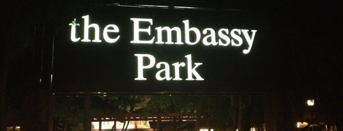 The Embassy Park is one of Lieux qui ont plu à Alina.
