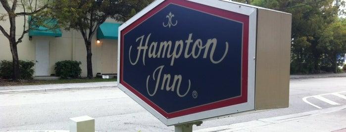Hampton Inn by Hilton Coconut Grove Coral Gables Miami is one of Tempat yang Disukai Fabio.