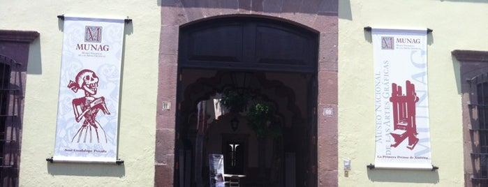Museo Nacional de las Artes Gráficas is one of Querétaro.