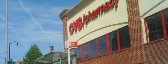 CVS pharmacy is one of Thérèse 님이 좋아한 장소.