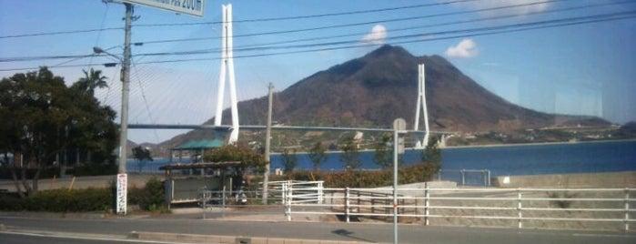 大三島BS is one of 西瀬戸自動車道(しまなみ海道).