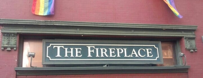 The Fireplace is one of Gay Places.