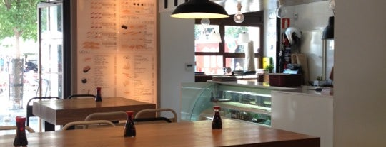 Maki Malasaña is one of Favorite eat&drink places in Madrid.