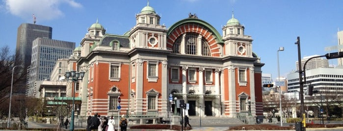 Osaka City Central Public Hall is one of Orte, die Hideo gefallen.