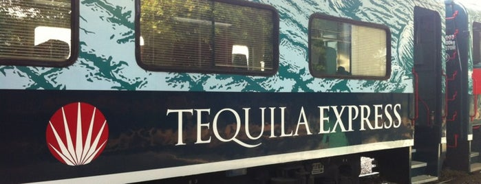Tequila Express is one of Lugares favoritos de Vanessa.