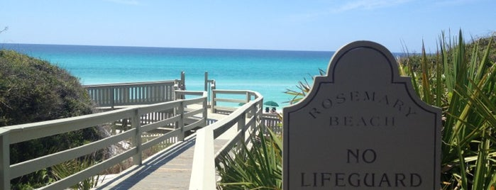 Rosemary Beach is one of 30A.