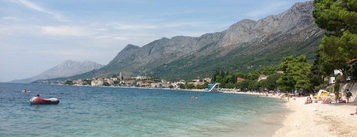 Gradac is one of hırvatistan.
