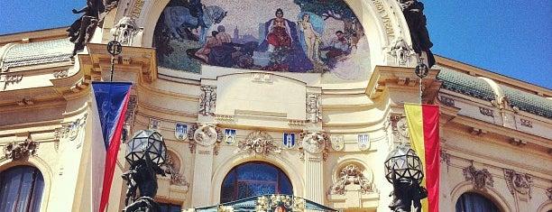 Obecní dům is one of Praha - Prague - Praga.