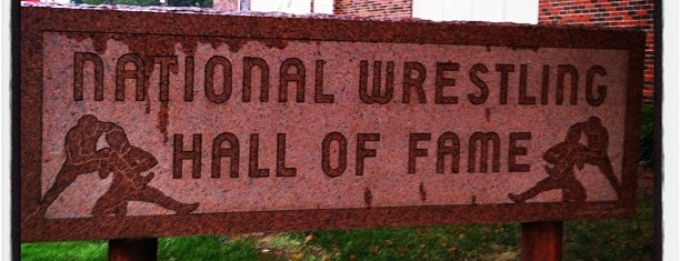 National Wrestling Hall Of Fame is one of The Great American Road Trip.