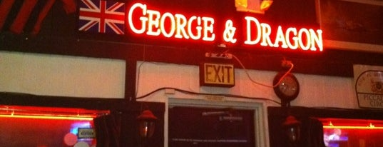 George & Dragon is one of Drinks.