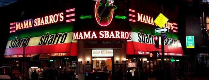 Sbarro is one of Kiran visits NY!.