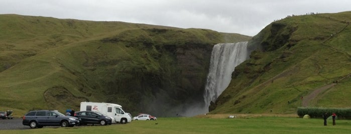 Skógafoss is one of Iceland Grand Tour.