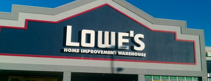 Lowe's is one of St Augustine Florida.