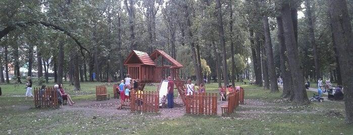 Парк на Молодіжній is one of สถานที่ที่ Stanislav ถูกใจ.