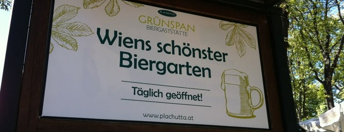 Plachuttas Grünspan is one of Wien.