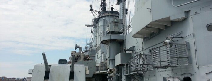 USS Salem (CA 139) Floating Museum is one of Beantown.