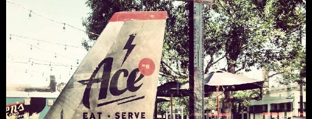 Ace Eat Serve is one of Gespeicherte Orte von Erik.