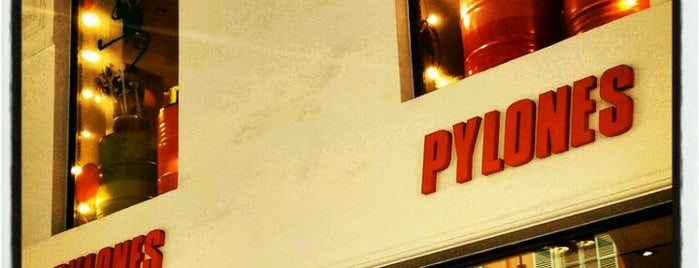 Pylones is one of Nice.