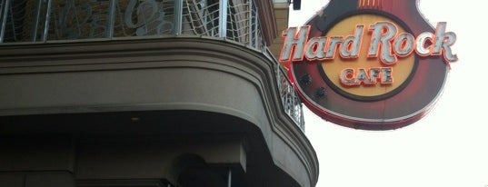 Hard Rock Cafe Niagara Falls Canada is one of Hard Rock Cafes I've Visited.