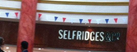 Selfridges & Co is one of Manchester.