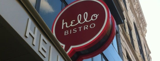 Hello Bistro - Oakland is one of Tiona 님이 좋아한 장소.