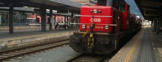 Innsbruck Hauptbahnhof (IOB) is one of Orte, die Carl gefallen.