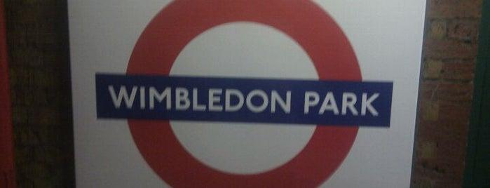 Wimbledon Park London Underground Station is one of Underground Stations in London.