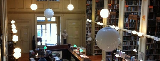 Providence Athenaeum is one of PVD + other RI.
