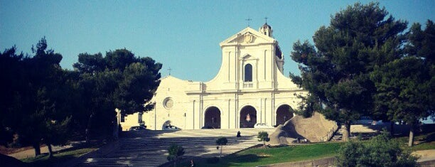 Santuario N.S. Di Bonaria is one of Int'l Random Places.
