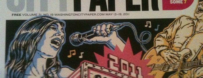Washington City Paper is one of DC : понравившиеся места.
