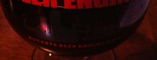 Buckeye Beer Engine is one of Draft Mag's Top 100 Beer Bars (2012).