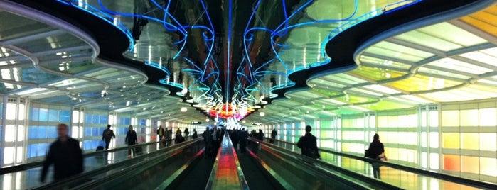 Международный аэропорт Чикаго О'Хара (ORD) is one of Airports I've flown thru.