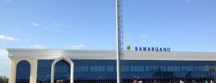 Samarqand Xalqaro Aeroporti / Samarkand International Airport (SKD) is one of Airports Visited.